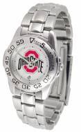 Ohio State Buckeyes Sport Steel Women's Watch