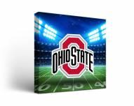 Ohio State Buckeyes Stadium Canvas Wall Art