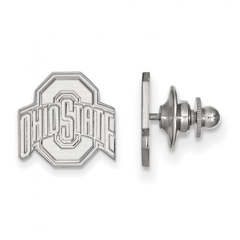 Ohio State Buckeyes Sterling Silver Lapel Pin