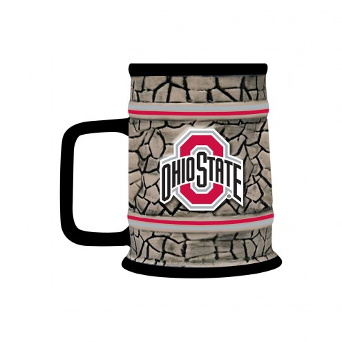 Ohio State Buckeyes Stone Stein