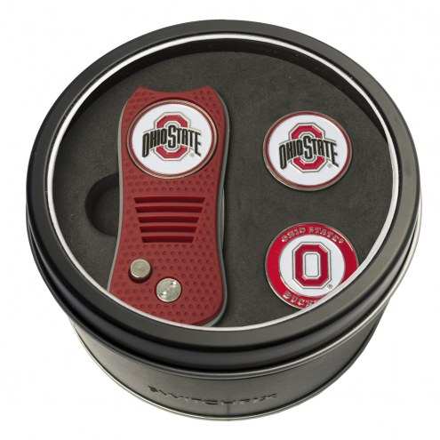 Ohio State Buckeyes Switchfix Golf Divot Tool & Ball Markers