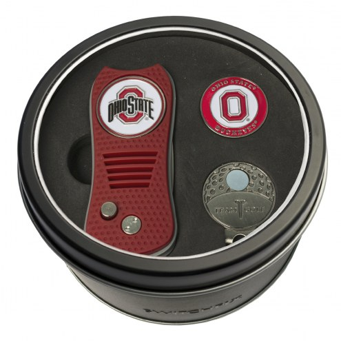 Ohio State Buckeyes Switchfix Golf Divot Tool, Hat Clip, & Ball Marker