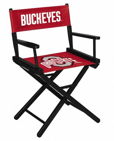 Ohio State Buckeyes Table Height Director's Chair