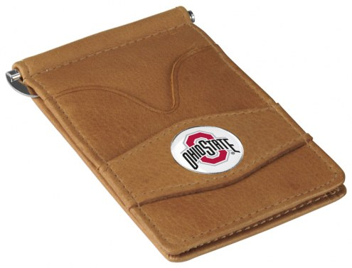 Ohio State Buckeyes Tan Player's Wallet