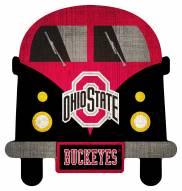 Ohio State Buckeyes Team Bus Sign