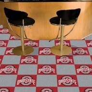 Ohio State Buckeyes Team Carpet Tiles