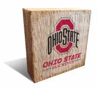 Ohio State Buckeyes Team Logo Block