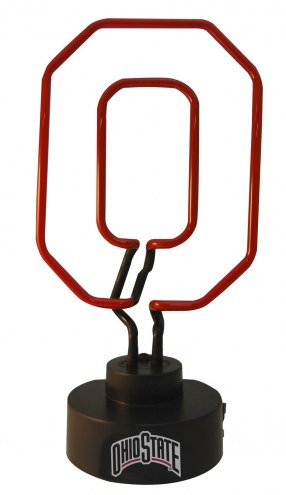 Ohio State Buckeyes Team Logo Neon Lamp
