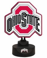 Ohio State Buckeyes Team Logo Neon Light