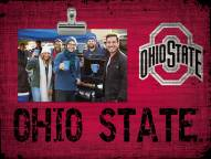 Ohio State Buckeyes Team Name Clip Frame