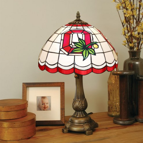 Ohio State Buckeyes Tiffany Table Lamp