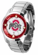 Ohio State Buckeyes Titan Steel Men's Watch