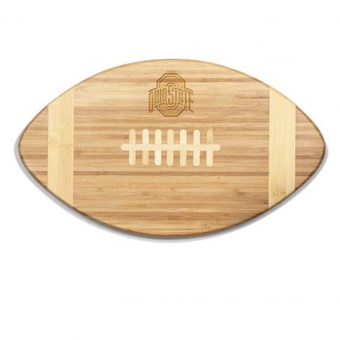 Ohio State Buckeyes Touchdown Cutting Board