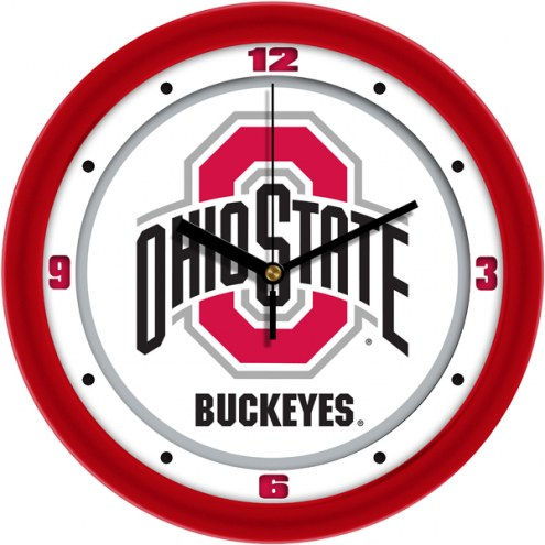 Ohio State Buckeyes Traditional Wall Clock