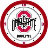 Ohio State Buckeyes Traditional Wall Clock