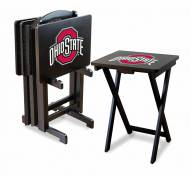 Ohio State Buckeyes TV Trays - Set of 4