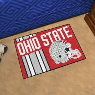 Ohio State Buckeyes Uniform Inspired Starter Rug