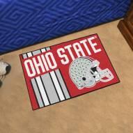 Ohio State Buckeyes Uniform Inspired Starter Rug
