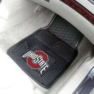 Ohio State Buckeyes Vinyl 2-Piece Car Floor Mats