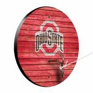 Ohio State Buckeyes Weathered Design Hook & Ring Game