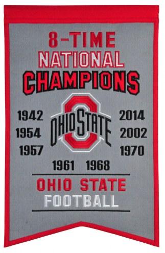 Ohio State Buckeyes Champs Banner
