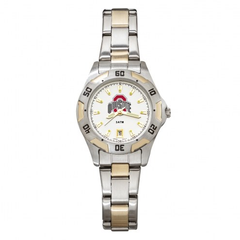 Ohio State Buckeyes Women's All-Pro Two-Tone Watch