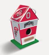 Ohio State Buckeyes Wood Birdhouse