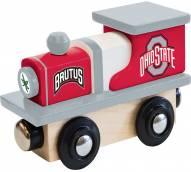 Ohio State Buckeyes Wood Toy Train
