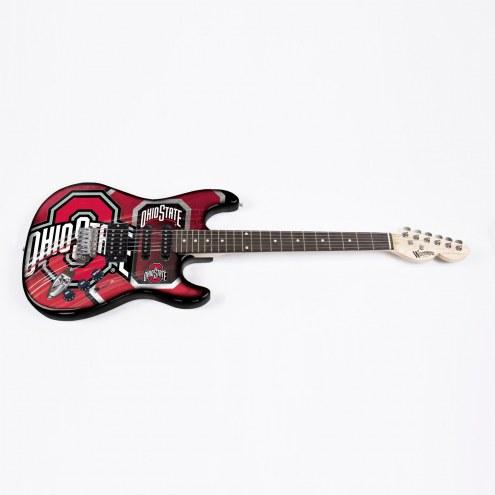 Ohio State Buckeyes Woodrow Northender Electric Guitar
