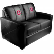 Ohio State Buckeyes XZipit Silver Loveseat with Block O Logo