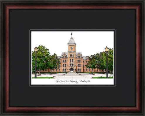 Ohio State University Academic Framed Lithograph
