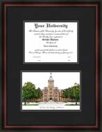 Ohio State University Diplomate Framed Lithograph with Diploma Opening