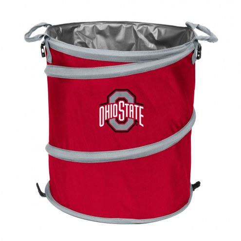 Ohio State Buckeyes Collapsible Trashcan