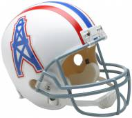 Riddell Houston Oilers 1975-80 Deluxe Collectible Throwback NFL Football Helmet