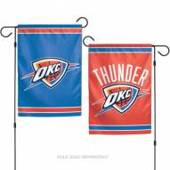 "Oklahoma City Thunder 11"" x 15"" Garden Flag"