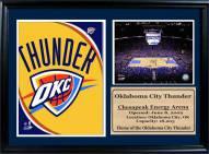 "Oklahoma City Thunder 12"" x 18"" Photo Stat Frame"