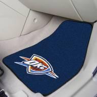 Oklahoma City Thunder 2-Piece Carpet Car Mats