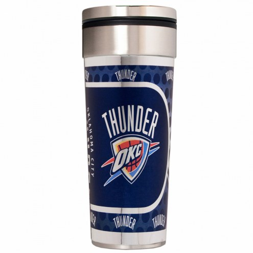 Oklahoma City Thunder 22 oz. Hi Def Travel Tumbler