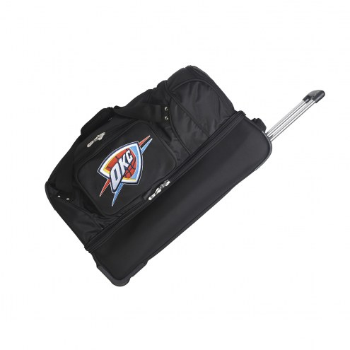 "Oklahoma City Thunder 27"" Drop Bottom Wheeled Duffle Bag"