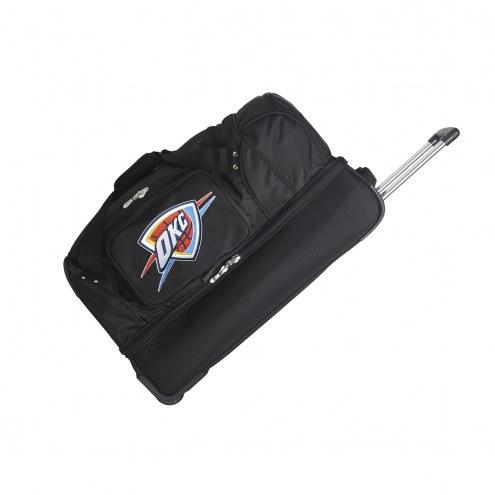 "Oklahoma City Thunder 27"" Drop Bottom Wheeled Duffle Bag"