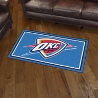 Oklahoma City Thunder 3' x 5' Area Rug