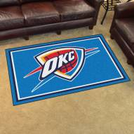 Oklahoma City Thunder 4' x 6' Area Rug