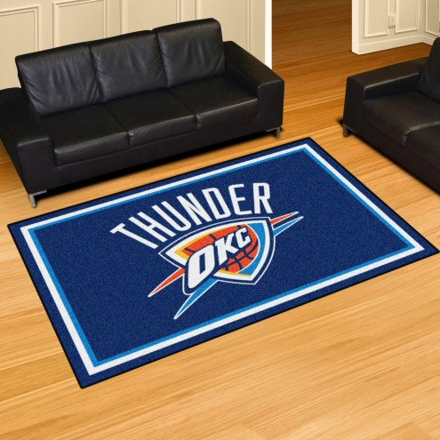 Oklahoma City Thunder 5' x 8' Area Rug