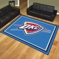 Oklahoma City Thunder 8' x 10' Area Rug