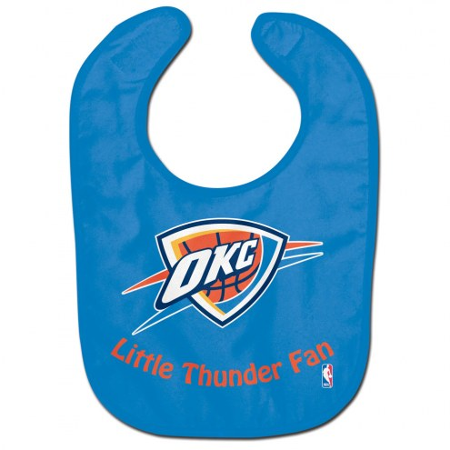 Oklahoma City Thunder All Pro Little Fan Baby Bib
