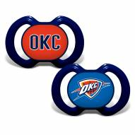 Oklahoma City Thunder Baby Pacifier 2-Pack