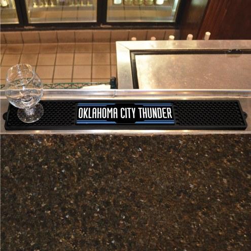 Oklahoma City Thunder Bar Mat