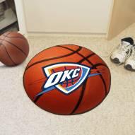 Oklahoma City Thunder Basketball Mat