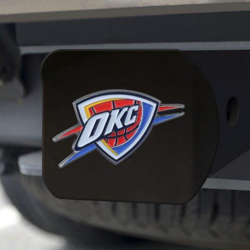 Oklahoma City Thunder Black Color Hitch Cover