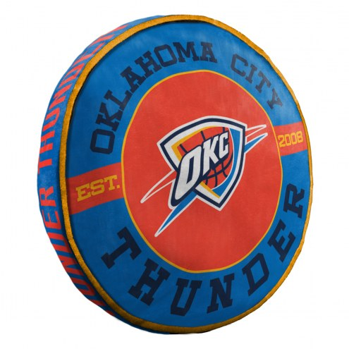 Oklahoma City Thunder Cloud Travel Pillow